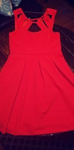 Betsy Johnson size 12 red dress WORN ONCE